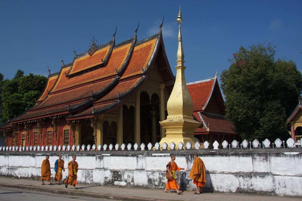 Đền Wat Sen tại Luang Prabang, Lào
