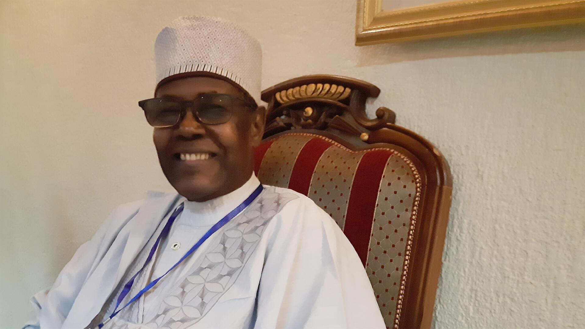Dr Djimé Adoum, secrétaire exécutif du Comité Permanent Inter-États de Lutte contre la Sécheresse au Sahel.