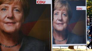A imprensa francesa está certa da vitória de Angela Merkel nas eleições legislativas de domingo (24/09) na Alemanha.