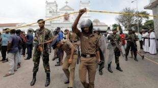 Igreja Saint-Antoine de Colombo foi uma das atingidas por onda de atentados no Sri Lanka.
