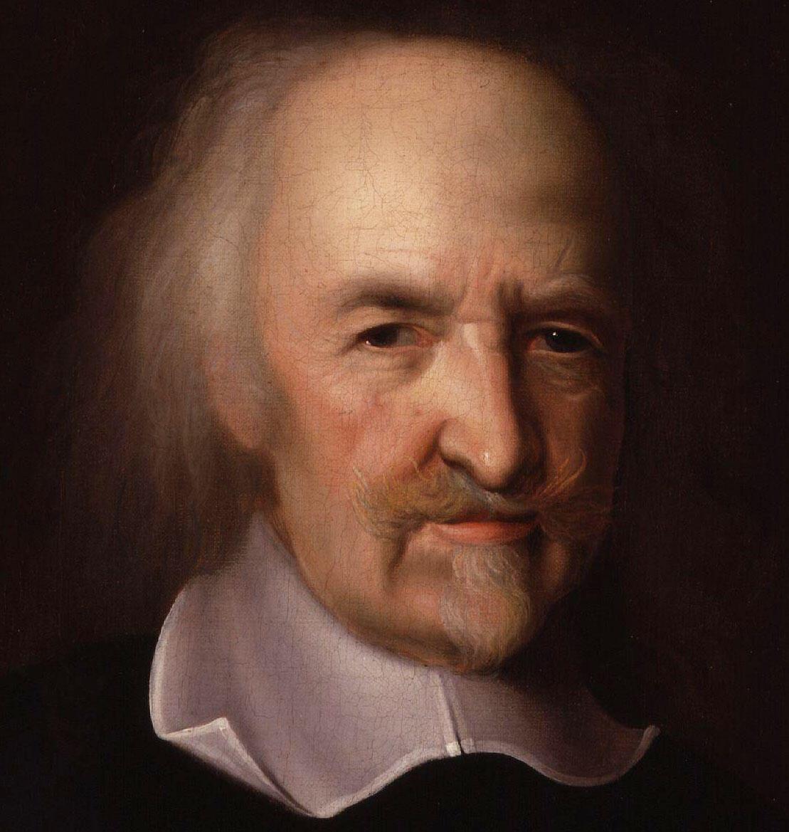 រូបគំនូរបង្ហាញពីទស្សនវិទូ ថូម៉ាស់ ហបស៍ (Thomas Hobbes)