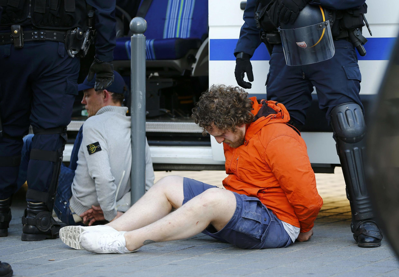 Российские болельщики, задержанные в Лилле