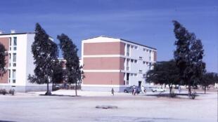 Une vue de la ville nouvelle à Nouakchott, en Mauritanie.