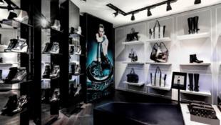 Foto do novo concept store de Karl Lagerfeld, no boulevard Saint-Germain, em Paris, neste 1° de março de 2013.