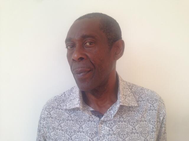 Jean Bofane, auteur de «Mathématiques congolaises», «Congo INC» et «La Belle de Casa», à Bruxelles.