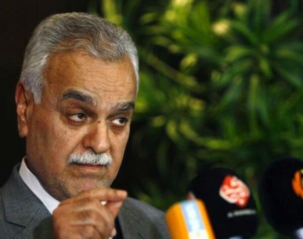 Makamu wa rais wa Iraq Tariq al-Hashemi ambaye ametolewa hati ya kukamatwa Polisi wa Interpol