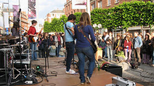Festa da música em Amiens, em junho 2010.