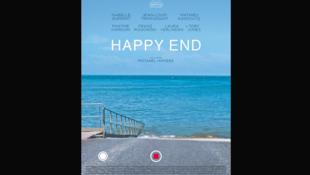 """O cartaz de """"Happy End"""", de Michael Haneke, em cartaz em Cannes."""