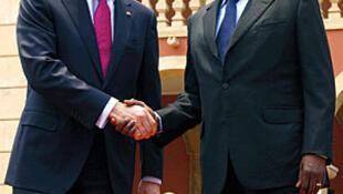Pedro Passos Coelho, Primeiro-Ministro de Portugal e José Eduardo dos Santos, Presidente da República de Angola