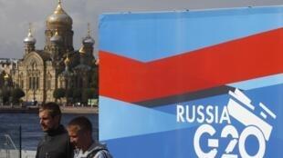 A Síria deve dominar os debates no G20