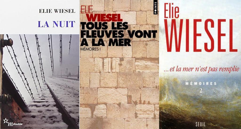 Elie Wiesel était un écrivain prolifique. Récit autobiographie, La Nuit était son premier livre, mais il a aussi écrit des roman, des essais et ses mémoires en deux tomes.