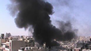 Сирия, Хомс, 23 июля 2012 года (архив)