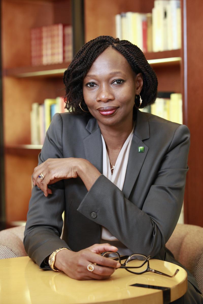 La malienne Binta Touré N'Doye dirige le groupe panafricain Oragroup.