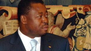 Le président togolais Faure Gnassingbé.
