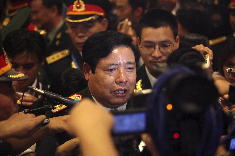 Bộ trưởng Quốc phòng Việt Nam Phùng Quang Thanh - REUTERS
