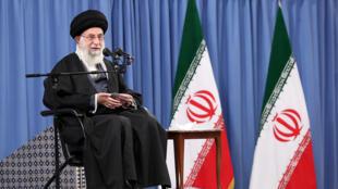 Kiongozi mkuu wa Iran Ayatollah Ali Khamenei.