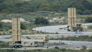Um míssil sírio teria sido interceptado pelo sistema de defesa israelense Arrow (foto).