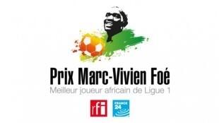 Le Prix Marc-Vivien Foé est attribué au meilleur joueur de football africain évoluant dans le Championnat de France.
