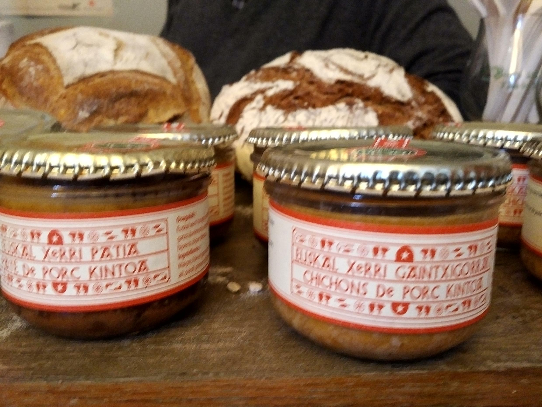 Productos del suroeste de Francia.