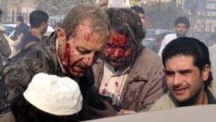 Bomb blast in Khyber region of Pakistan kills at least 35 people