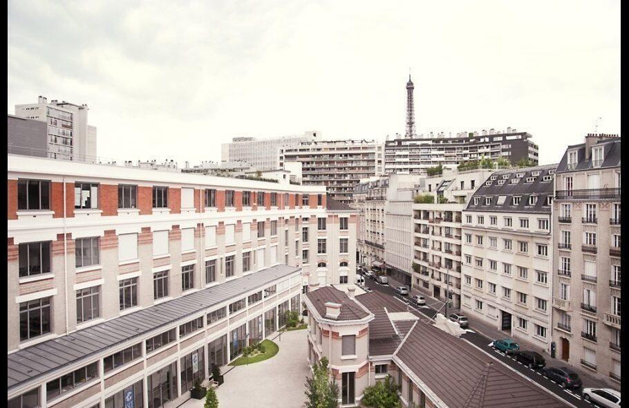 Vista del campus de París.