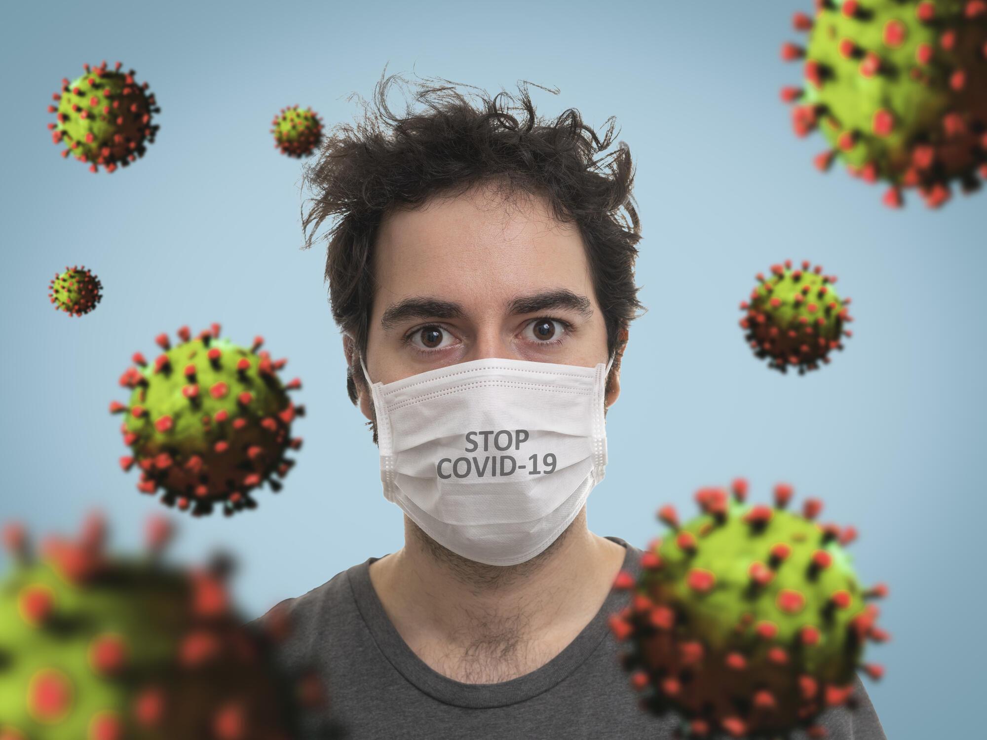 Hoto fasalin yadda kwayar cutar Coronavirus take.