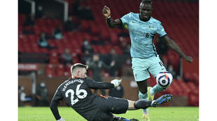 Football - Sadio Mané - Liverpool vs Manchester United - 13 mai 2021 - AP photos