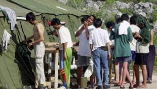 Refugiados em Nauru