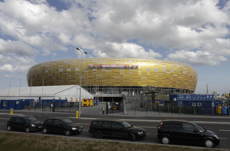 Le nouveau stade de Gdansk.