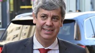 Mario Centeno, ministre des Finances du Portugal.