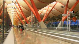 Aéroprot international Barajas, à Madrid, en Espagne.