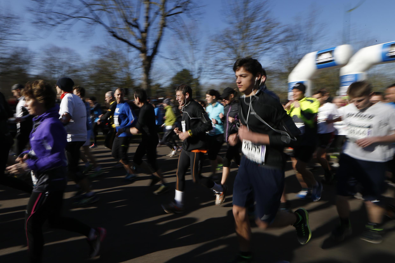 La course à pied est de plus en plus pratiquée en France.