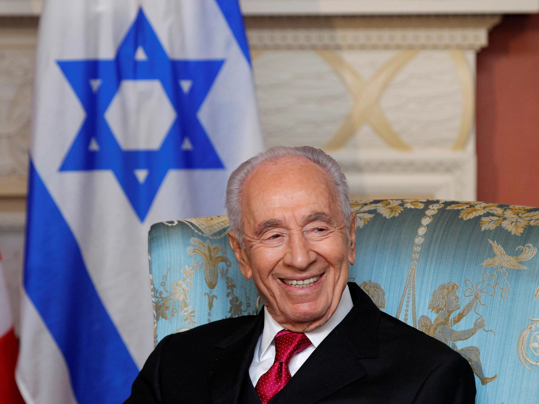 Cố tổng thống Israel Shimon Peres, ảnh chụp ngày 07/05/2012.
