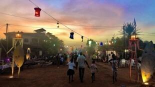 La rue 9.32 au festival Les Récréâtrales à Ouagadougou, au Burkina Faso.
