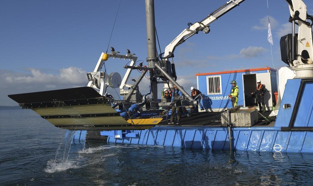 Eel Energy espère pouvoir commercialiser ses premières hydroliennes d'ici trois-quatre ans.