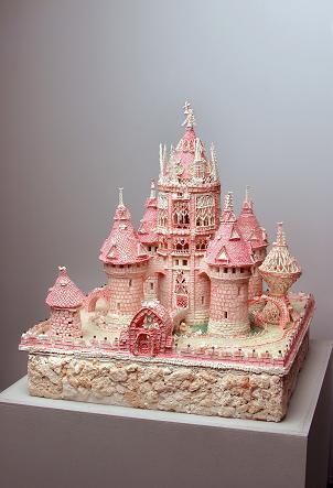 """Торт """"Розовый замок"""" из коллекции музея в Туре"""