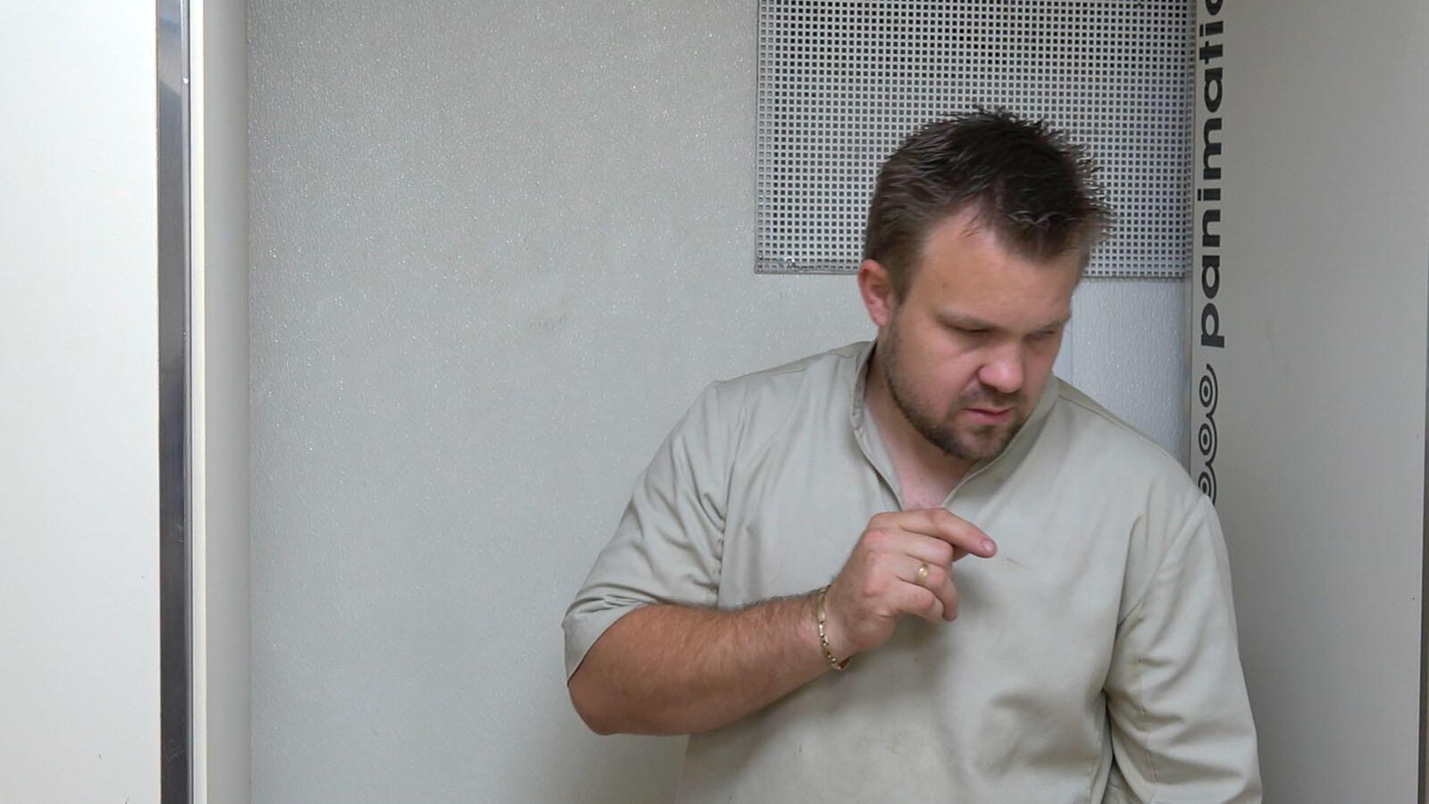Guillaume, le deuxième portrait dans le premier épisode de « Six portraits XL » d'Alain Cavalier.