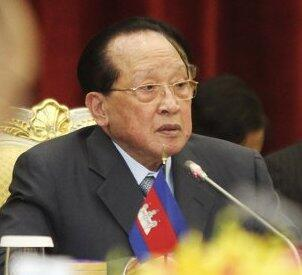 Ngoại trưởng Hor Namhong. Ảnh chụp 04/2012
