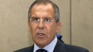 Глава МИДа России Сергей Лавров