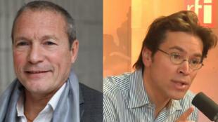Jean-Michel Fauvergue et Geoffroy Didier.