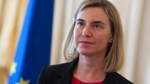 La jefa de la diplomacia europea, Federica Mogherini. Archivo.
