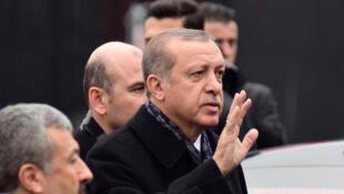 Le président turc Recep Tayyip Erdogan, à Istanbul, le 12 décembre 2016.