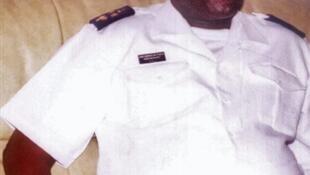 Contra almirante Bubo Na Tchuto, Chefe de Estado Maior da Armada guineense, em agosto 2008.