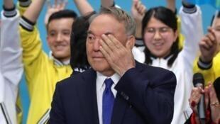 Нурсултан Назарбаев на съезде правящей партии «Нур Отан», 23 апреля 2019