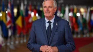 Michel Barnier, Negociador-chefe da União Europeia para o Brexit. Imagem de arquivo.