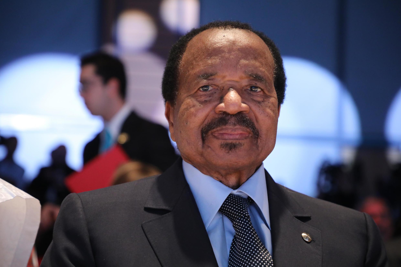Le président camerounais, Paul Biya.