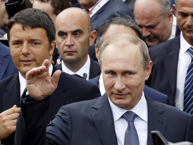 . Tổng thống Nga Vladimir Putin tại Triển lãm toàn cầu Milano, 10/06/ 2015.