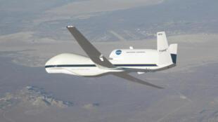 Máy bay không người lái  Global Hawk được Mỹ.sử dụng để thu thập thông tin tình báo từ Trung Quốc.