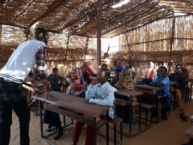 Classe passerelle à Niamey au Niger