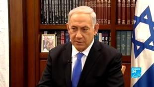 Benjamin Netanyahu insiste para que a comunidade internacional imponha sanções contra o Irã.